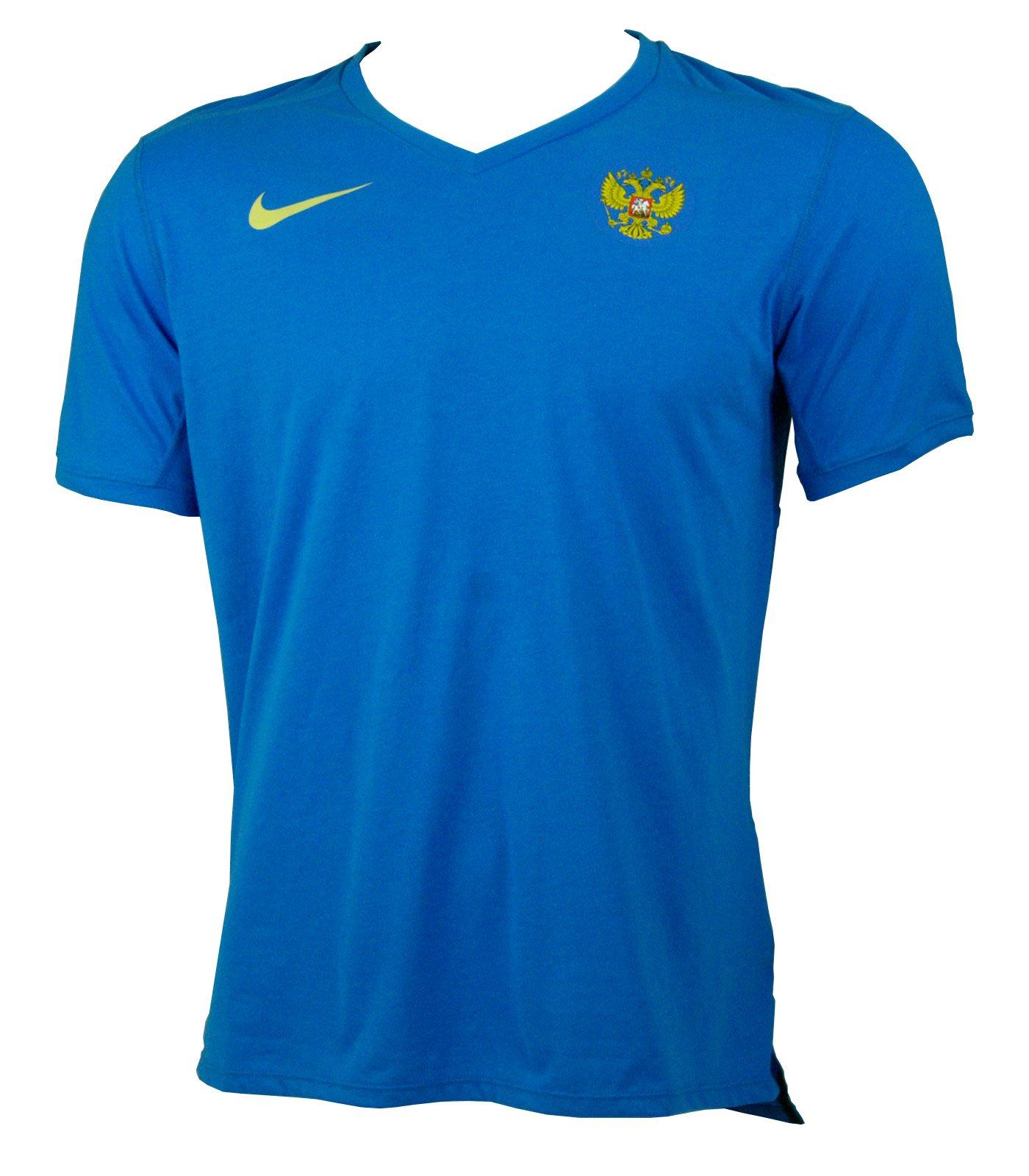 Купить футболку Nike Russia Tailwind V-Neck Tee   Интернет-магазин ... e49fc35c159