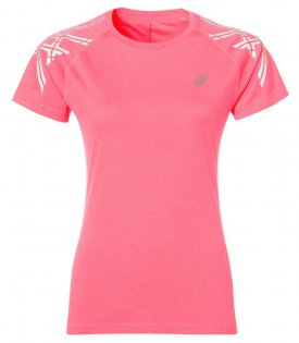 Футболка Asics Stripe Short Sleeve Top W 141224 6039