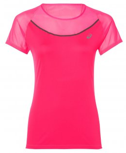 Футболка ASICS Elite Short Sleeve Tee W 141247 0688