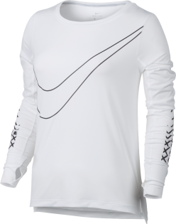 Кофта Nike Breathe Long Sleeve Top W 831665 100