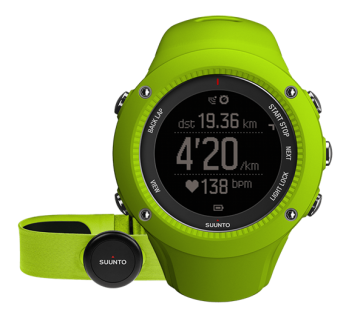 Часы Suunto Ambit 3 Run HR Smart Sensor AMB3RUN-HR-SS-GRN