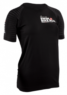 Футболка Compressport Training Shirt SwimBikeRun W TSTNW-SBR01
