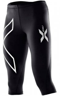 Компрессионные тайтсы 3/4 2XU Universal Compression 3/4 Tight W WA1943b BLK/BLK