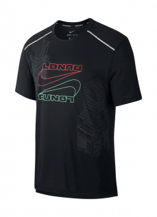 Футболка Nike Rise 365 Short Sleeve Top London CI1095 010