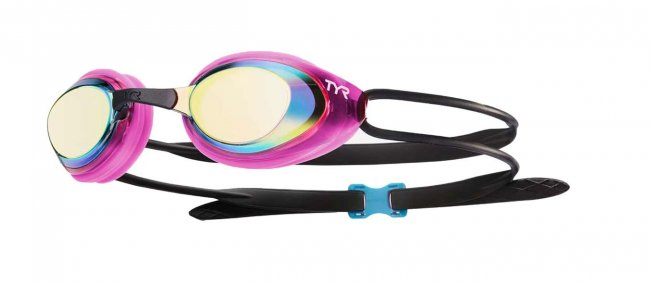 Очки для плавания TYR Black Hawk Racing Femme Mirrored W LGBHFM 760