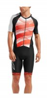 Стартовый костюм 2XU Compression Sleeved Full Zip Trisuit