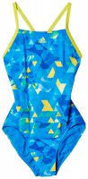 Слитный купальник Adidas Xtreme Allover Young One Piece W