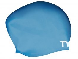 Шапочка для плавания TYR Silicone Cap Long Hair