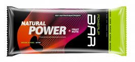 Батончик Powerup Bar Fruit+Nuts 50 g Финики, Изюм, Яблоко, Корица, Миндаль