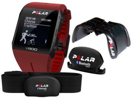 Часы Polar V800 + HR-H7 + Cad + Mount