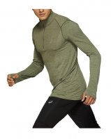 Кофта ASICS Seamless Long Sleeve 1/2 Zip Top