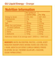 Гель Gu Liquid Energy Gel 60 g Апельсин