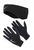 Перчатки Nike Running Dri-Fit Headband/Gloves Set W