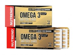 Капсулы Nutrend Omega 3 Plus Softgel 120 капс