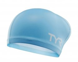 Шапочка для плавания TYR Long Hair Silicone Comfort Swim Cap W