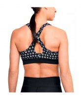 Бра Under Armour Armour Mid Crossback Printed Bra W