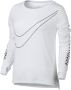 Кофта Nike Breathe Long Sleeve Top W 831665 100 №1