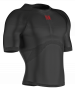 Термофутболка Compressport 3D Thermo Ultra Light Shirt SS TS3D-SS99 черная вид сбоку №3